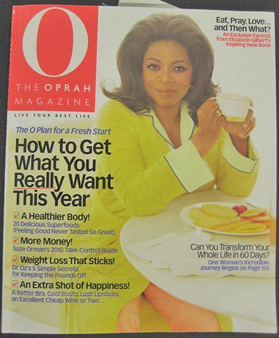 January Oprah Magazine