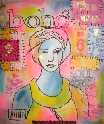 Boho Glossy Winter issue 2010
