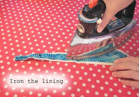 Ironing lining 2